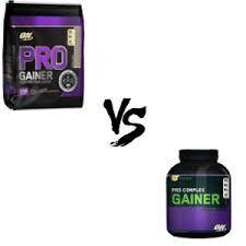 pro gainer vs pro plex gainer