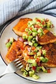 Pan Seared Spice Crusted Salmon Recipe ...