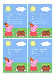 Imprimible Peppa Pig Pdf Google Drive Cumple Peppa Peppa Pig