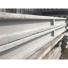 8ft Concrete Slotted Intermediate Fence Post Gfsuk
