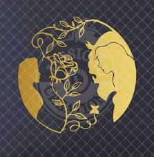 Beauty And The Beast Inspired Wall Vinyl Decal V5 Vinyl Wall Decals Vinyl Decals Vinyl Decals Quotes