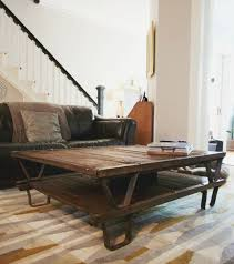 diy antique pallet coffee table