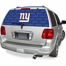 New York Giants Ny Auto Rear Back Window Film Decal Windshield Cover Football Ebay