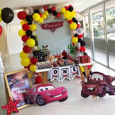 Como Decorar Una Fiesta De Cars Rayo Mcqueen