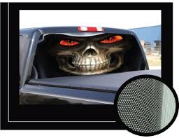 Reaper 22 X 65 Rear Window Graphic Back Truck Decal Suv View Thru Vinyl Homononaoeraa