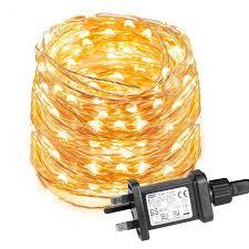 copper wire fairy lights