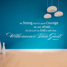 Scripture Wall Art Joshua 1 9 Be Strong And Of A Good Courage