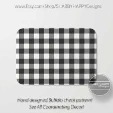 black and white buffalo check gingham