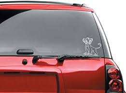 Amazon Com Simba Bumper Sticker Automotive Car Decal Automotive
