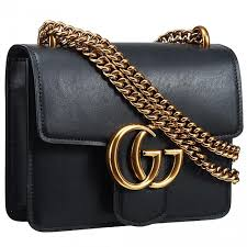 small gucci gg marmont yellow brass