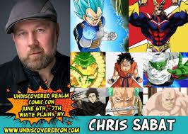 Chris Sabat - Undiscovered Realm Comic Con