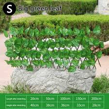 Storeshop Wooden Fence Durable Retractable Simulation Fence Outdoor Garden Decoration Fence Lazada Ph