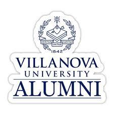 Villanova Wildcats 4 Inch Laser Cut Alumni Vinyl Decal Sticker Walmart Com Walmart Com