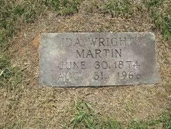 Ida D Wright Martin (1874-1966) - Find A Grave Memorial