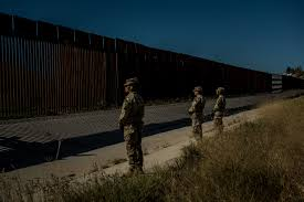 Pentagon Troops Will Use Anti Climb Paint On Border Wall Time