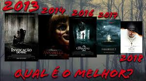 Melhores x Piores filmes da saga The Conjuring (Terror) - YouTube