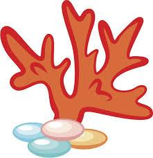 Cute Simple Sea Ocean Creature Emoji Cartoon Coral 3 Vinyl Decal St Shinobi Stickers