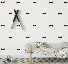Bow Tie Wall Decal Bow Ties Wall Sticker Boys Room Sticker Etsy Room Stickers Wall Sticker Wall Decals