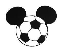 Mickey Mouse Soccer Ball Disney Car Body Window Bumper Vinyl Decal Sticker Ebay