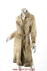 knight beige brown tan leather duster