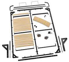 modern queen murphy bed kit side mount