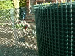 Plastic Garden Fencing Mesh 1 X 25 M Green 5 Mm Square Hole Fence Tree Protection For Sale Online Ebay
