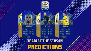 FIFA 18 Ultimate Team Serie A Team of The Season (TOTS ...