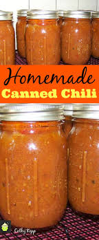 homemade canned chili lovefoos