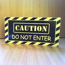 Caution Do Not Enter Kids Door Sign Boys Hideout Warning Sign Yellow And Black P377 Kids Room Gift Kids Door Signs Kids Room Sign Door Signs