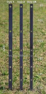 Estate Fencing Metal Supply Only For Self Installation