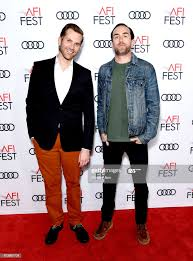 "Aaron Scott Moorhead and Justin Benson attend ""Festival Filmmaker ..."