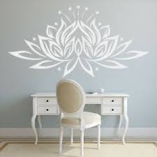 Lotus Flower Floral Wall Decal Sticker Ws 18897 Ebay