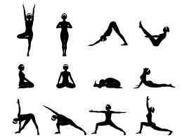 ᐈ yoga asana names and stock images