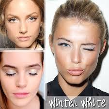 winter white makeup life unsweetened