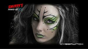 witch face painting make up