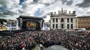 Concerto primo maggio 2019 Roma