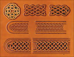 celtic belt buckle craftaid tandy