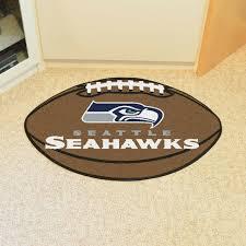 seattle seahawks logo welcome door mat