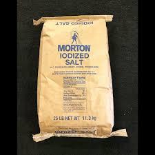 morton iodized table salt public salt