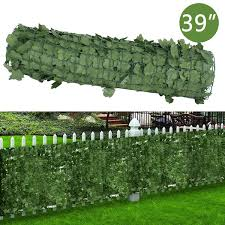 Segawe 39 X 94 Artificial Faux Ivy Leaf Privacy Fence Screen Decoration Panels Windscreen Patio Wish