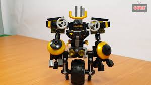 Lắp ráp Lego Ninja cưỡi cổ máy robot chiến đấu xe 1 bánh brick toy ...