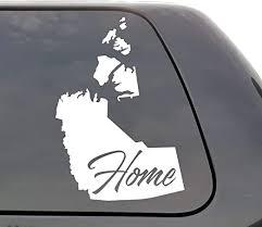 Amazon Com Northwest Territories Decal Northwest Territories Nt Decal Home Province Decal Yeti Decal Laptop Province Love Window Canada Vinyl Wall Window Door Car Truck Home Kitchen