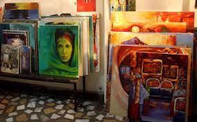 ethiopia s emerging art scene pits
