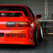 2x Myogi Night Kids Team Gtr Anime Initial D Jdm Drift Racing Car Sticker Decal Wish