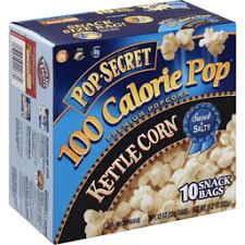 microwave popcorn snack bags