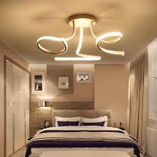modern acrylic led ceiling lights art