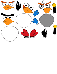 Angry Bird Printables (With images) | Angry birds printables, Bird ...