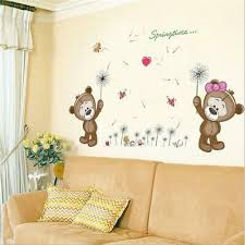 Baby Paddington Bear Wall Sticker Sleepy Head 001 Mural Kids Bedroom Nursery Home Garden Children S Bedroom Child Decor Decals Stickers Vinyl Art Ayianapatriathlon Com