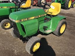 95787 john deere 214 garden tractor