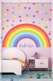 Rainbow Wall Decal Pastel Rainbow Wall Decal Size 54 X 25 Etsy Rainbow Wall Decal Rainbow Wall Stickers Rainbow Decal